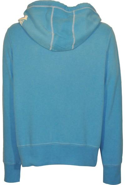 True Relıgıon Erkek Kapusonlu Sweat U001533 - Mavi