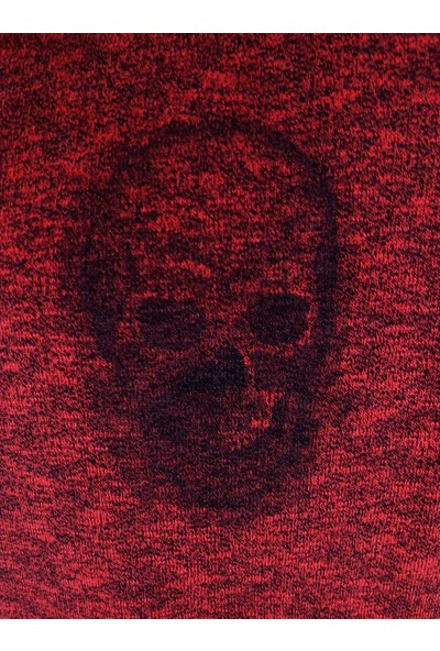 True Relıgıon Erkek Kapusonlu Fermuarlı Sweat U001577 - Kırmızı