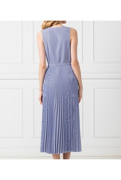 Tommy Hılfıger Kadın Elbise WW0WW24686518 D002507 - Mavi