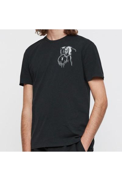 All Saints Erkek Bisiklet Yaka T-Shirt U003422