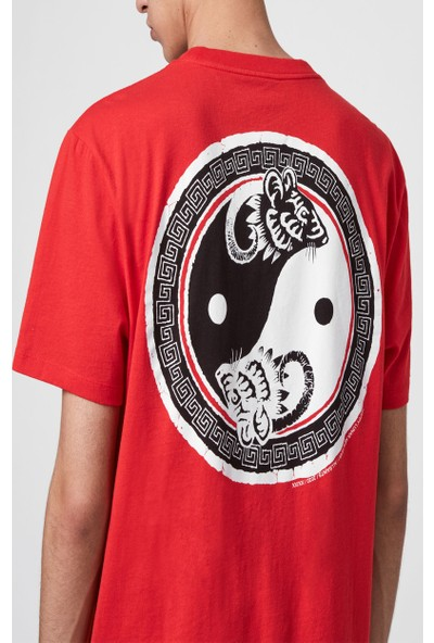 All Saints Erkek Baskılı T-Shirt MG028S