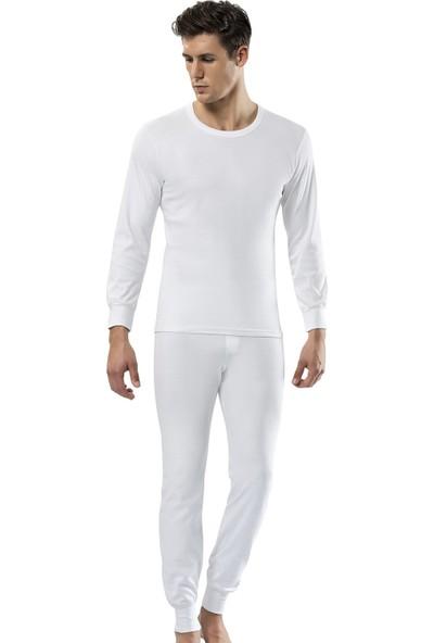 Erdem İç Giyim Erkek Beyaz Uzun Don
