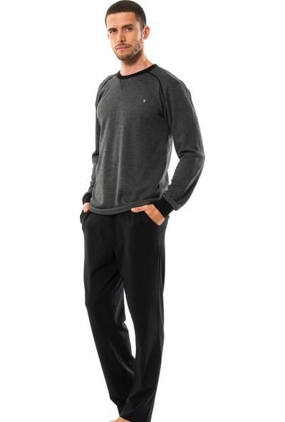Erdem İç Giyim Uzun Kollu Erkek Pijama Takımı