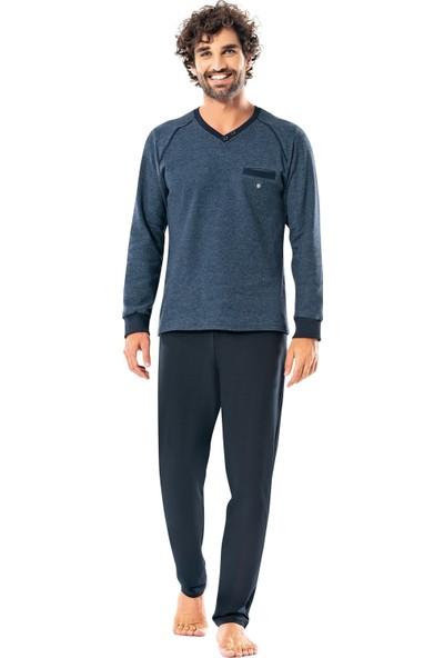 Erdem İç Giyim Uzun Kollu Erkek Kışlık Pijama