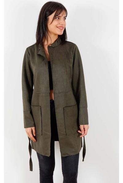 Fashion Friends Kadın Ceket Haki