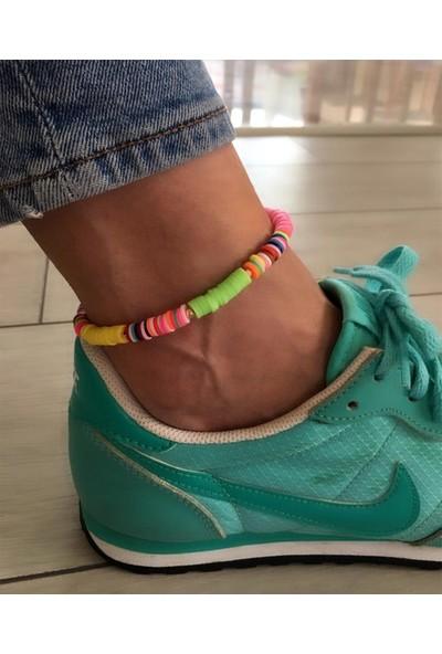 Serpil Jewellery Neon Renkli Polymer Halhal