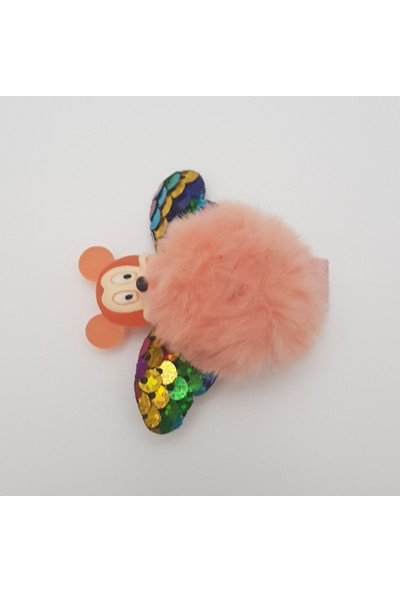 Mimol Bebek Çizgi Film Karakterli Ponpon Çocuk Tokası