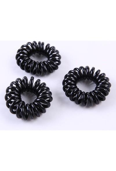 Yoyoso Telefon Kablosu Küçük 6 Lı Toka Siyah