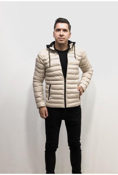 Amor Man Erkek Süper Slim Fit Dar Kesim Boncuk Dolgu Nano Leke Tutmayan Mont