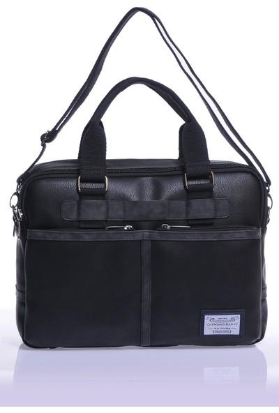 Sword Bag Siyah Laptop&evrak Çantası