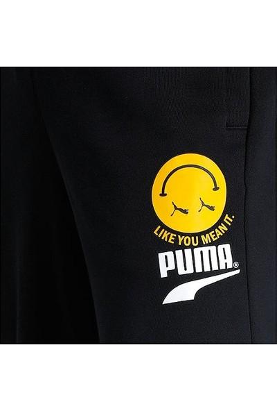 Puma Club Erkek Eşofman Altı - Siyah