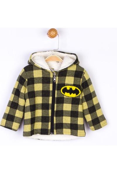 Batman Kapüşonlu Bebek Mont
