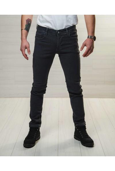Deep Brown Erkek Kot Pantolon SlimFit Yıkamalı Likralı Colombia