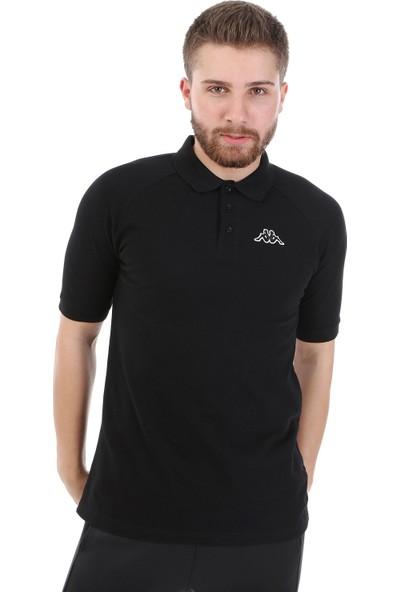 Kappa Polo T-Shirt Calsı Siyah