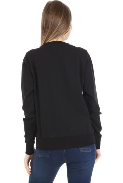 Kappa Kadın Sw-Shirt Arbır Siyah