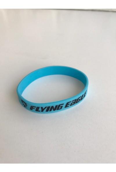 Flying Eagle Rubberwristband Blue Lastik Bileklik