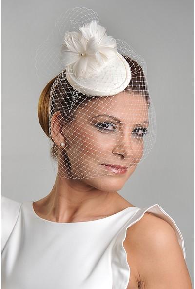 Turkuaz Aksesuar Nikah Şapkası