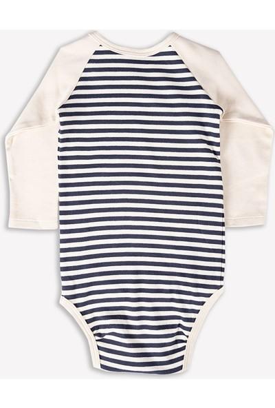 Ozmoz Unisex Bebek Kruvaze Body & Zıbın