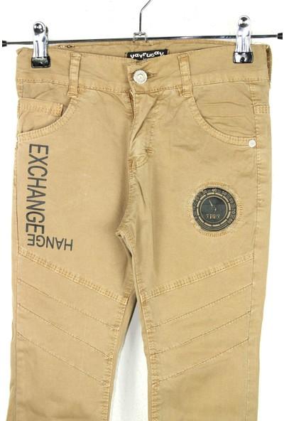 Yavrucak Kids Erkek Çocuk Exchange Baskılı Keten Pantolon