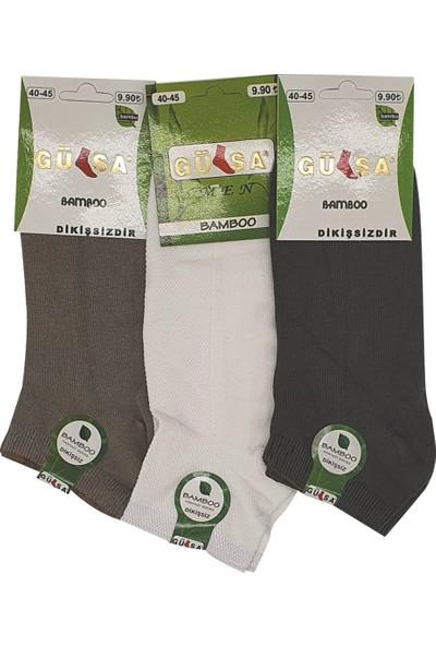 Gülsa Bambu 3'lü Erkek Çorap