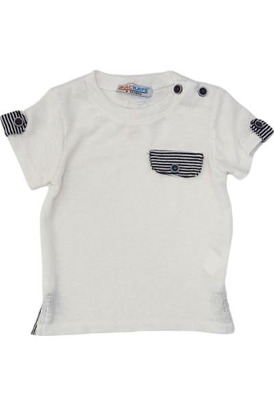 Mackays T-Shirt Erkek Bebek Beyaz