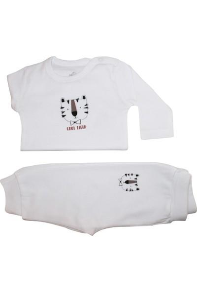 Bimini Tiger Kız Erkek Bebek Alt Üst Takım Pantalon Badi Zıbın