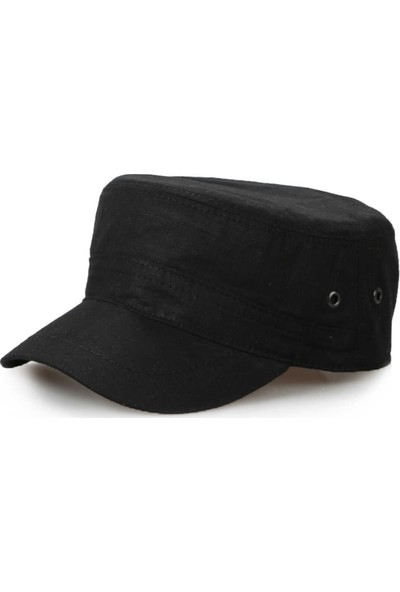 Onesize Fashion Erkek Castro Şapka Siyah
