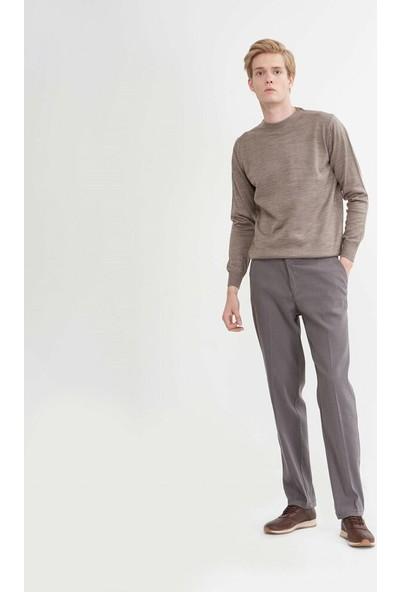 Çetinkaya Regular Kalıp Erkek Gri Pantolon