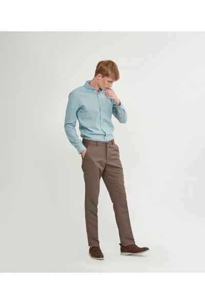 Mentality Regular Kalıp Erkek Toprak Pantolon