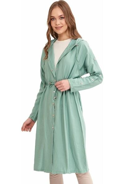 Şamdan Kadın Mint Yeşili Tunik