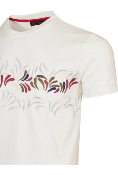 Rainsnow Erkek Sıfır Yaka T-Shirt