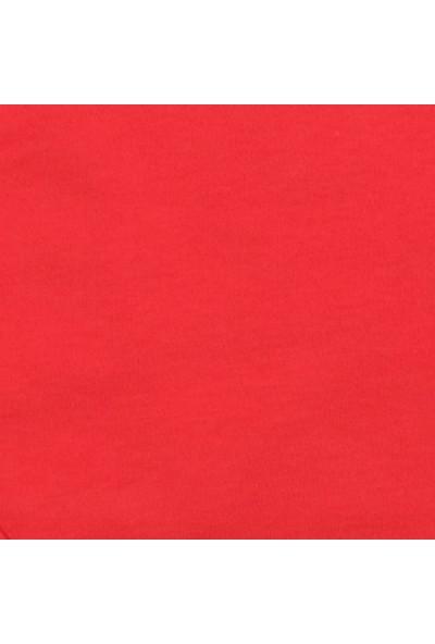 Pino Baby Kısa Kollu Çıtçıtlı Body Bebek Zıbın Seti 2'li - Kırmızı