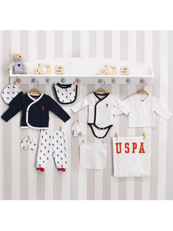 U.S. Polo Assn. U.s. Polo Assn Lisanslı Bebek 10 'lu Hastane Çıkış Seti