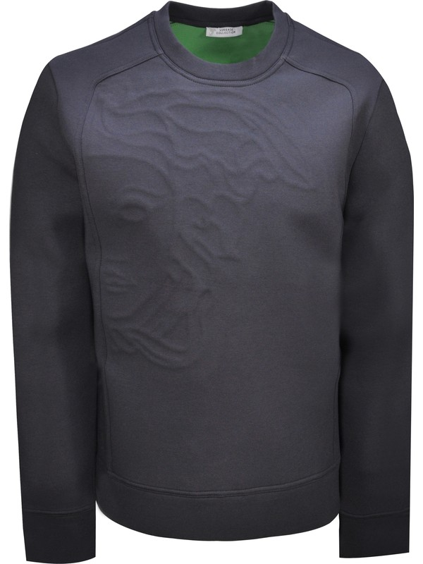 Versace Collectıon Erkek Sweat V800683S U001447 - Lacivert