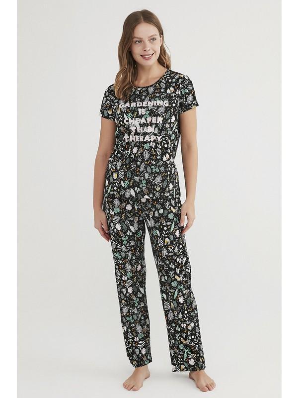 Penti Çok Renkli Gardening Pijama Takımı