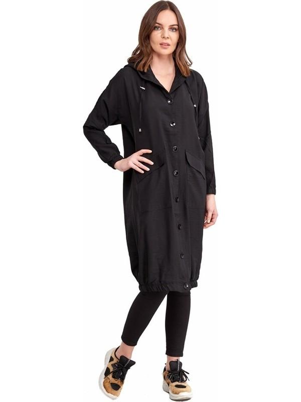 Şamdan Kadın 8168 Siyah Tunik