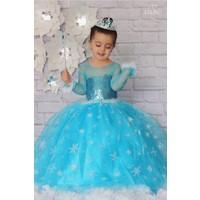 Patiska Nostalji Kostüm Patiska Nostalji Elsa Kostüm