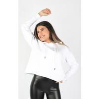 Balins Kadın Kapüşonlu Sweatshirt Beyaz