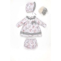 Babydola Kız Bebek Elbise 3'lü Set
