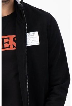 Guess M0YQ57.K92G0.JBLK Erkek Sweatshirt