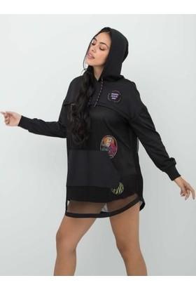 Guess O0BA54.KA3A0.JBLK Kadın Sweatshirt