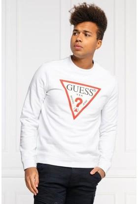 Guess M0BQ37.K7ON1.TWHT Erkek Sweatshirt