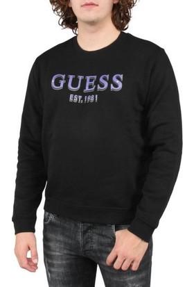 Guess M0BQ76.K9V31.JBLK Erkek Sweatshirt