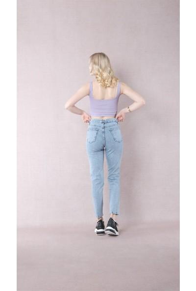 Egs Bayan Yeni Model Mom Pantolon 654141