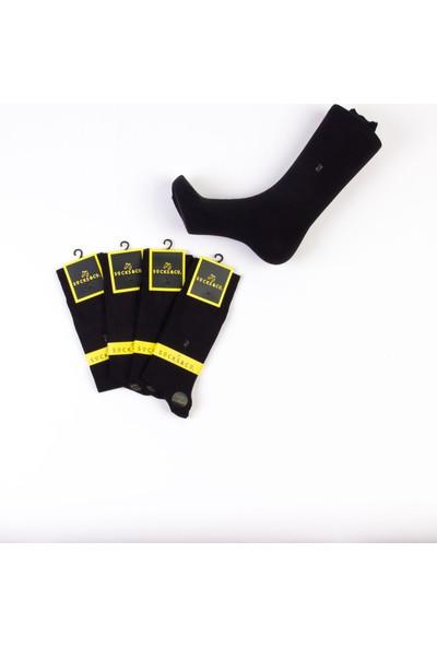 Socks&co 4 Çift Yetişkin Bambu Soket Çorap SC0122