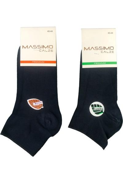 Maria 6'lı Maria Bayan Dikişsiz Bambu Patik Çorap