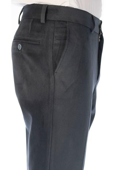 Fazlı Şahin Erkek Füme Corduray Kışlık Teflon Içli Fitilli Kadife Pantolon