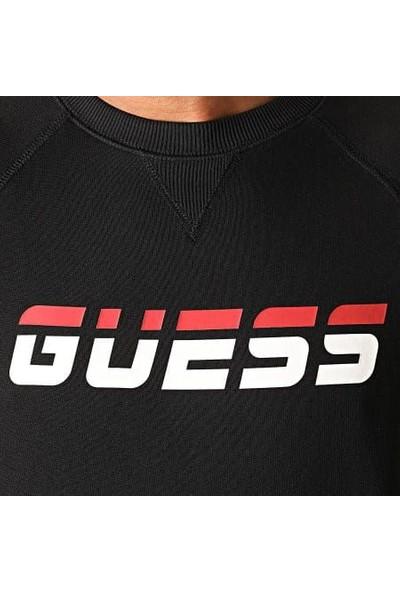 Guess U0BA48.K9V31.JBLK Erkek Sweatshirt