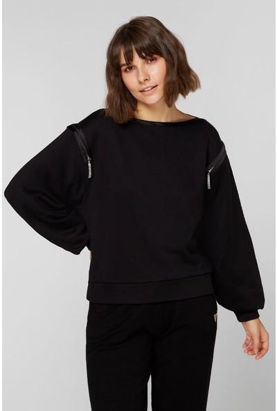 Guess W0BQ25.K7EX0.JBLK Kadın Sweatshirt