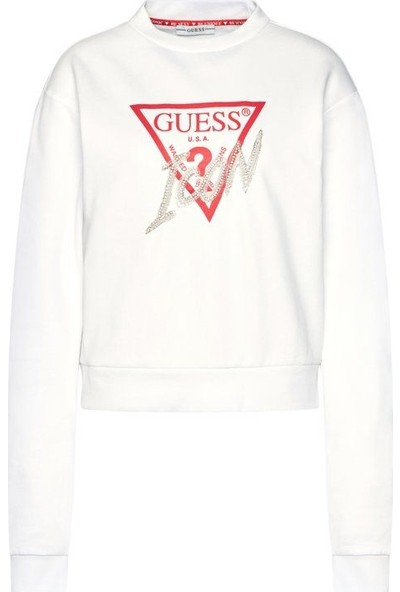 Guess W0BQ00.K68I0.TWHT Kadın Sweatshirt